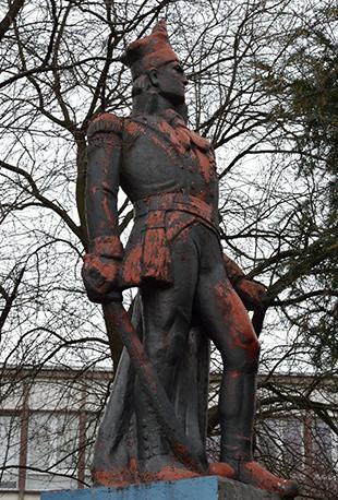 Pomnik przedstawiający Jakuba Jasińskiego