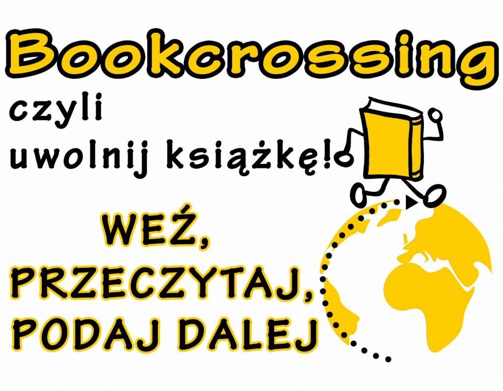 Grafika promująca bookcrossing