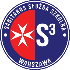 Logo Sanitarnej służby szkolnej Warszawa