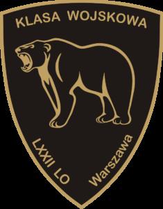 Logo Klasy wojskowej LXXII Liceum Warszawa